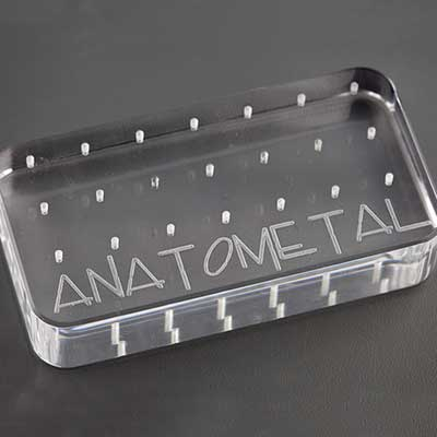 PRE-ORDER Anatometal Logo Threaded Ends Display