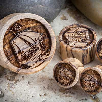 Wood Flagship Plugs