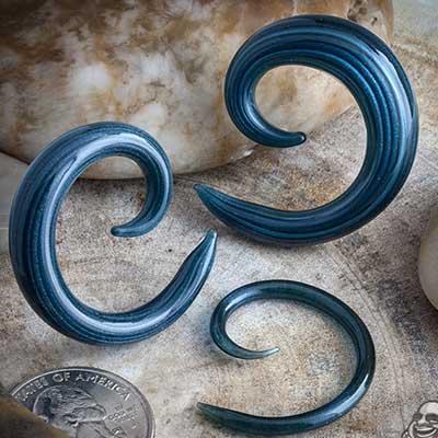 Pyrex Glass Spiral (Unobtainium)