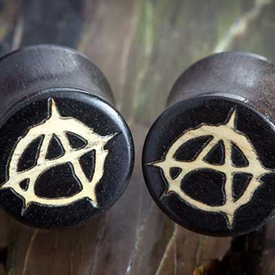 Gaboon Ebony Anarchy Plugs