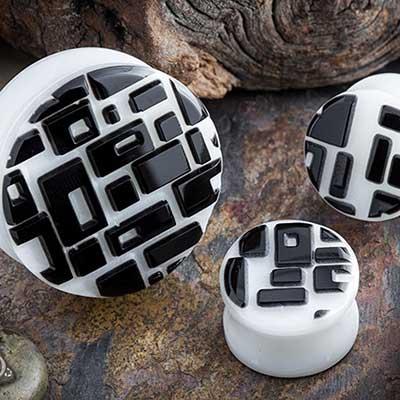 Retro Rectangle Plugs