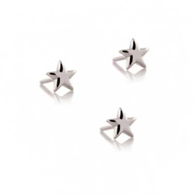 PRE-ORDER Titanium Threadless Star