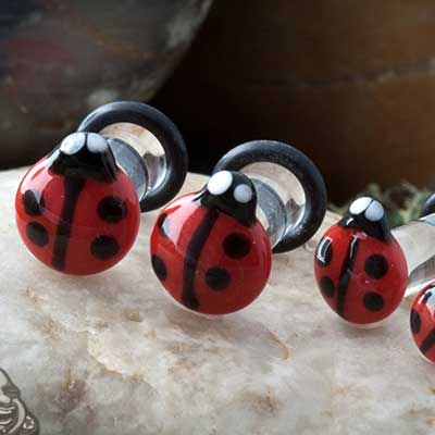 PRE-ORDER Ladybug Pyrex Plug