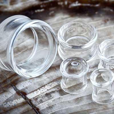 PRE-ORDER Clear pyrex septum eyelet