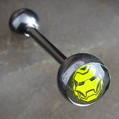 Steel Iron Man Barbell
