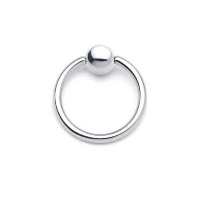 PRE-ORDER Steel captive ring