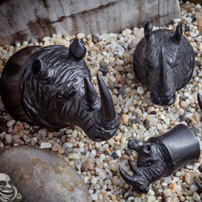 Arang Wood Rhino Plugs