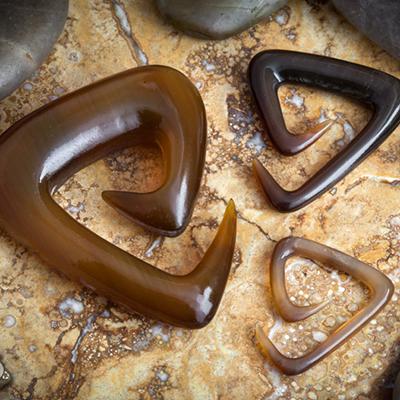 Golden Horn Tri-Spirals