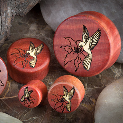 Wood Hummingbird Plugs