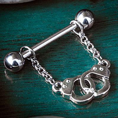 Handcuff nipple chain