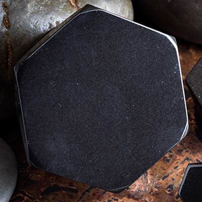 Black Obsidian Hexagon Plugs