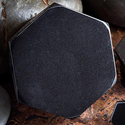 Black Obsidian Hexagon Plugs