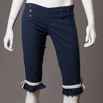 Long Navy bloomers
