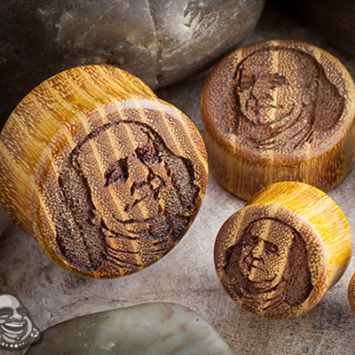 Osage Orange Benjamin Plugs