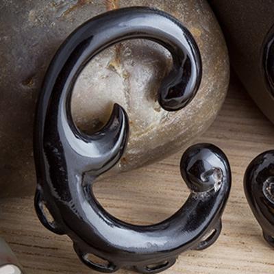 Black Horn Cursive Design