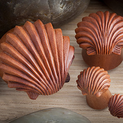 Sabo Wood Ariels Shell Plugs
