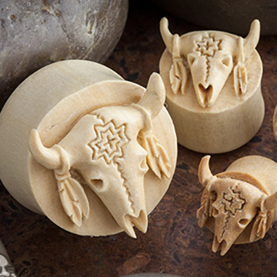 Crocodile wood wild buffalo plugs