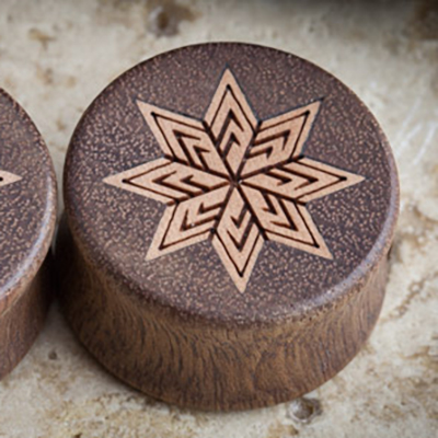 Double Sided Granadillo Plugs