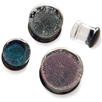 PRE-ORDER Dichroic Double Flare Plug
