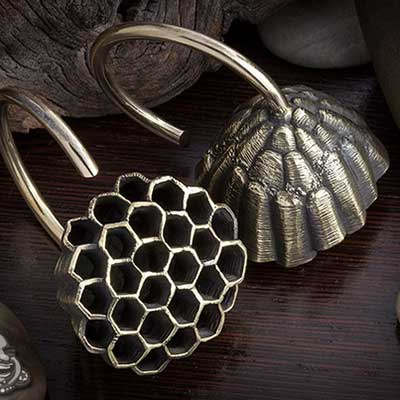 Brass Honeycomb Weights
