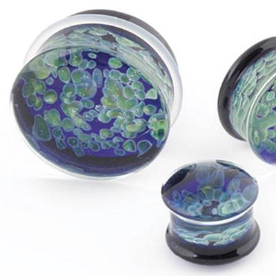 PRE-ORDER Glass Zoa Double Flare Plug