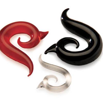 PRE-ORDER Glass Borneo Spirals
