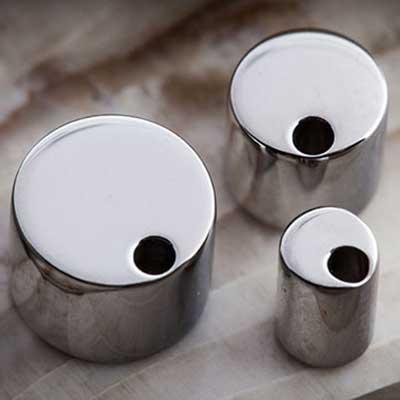 Titanium Septum Clicker Adapter