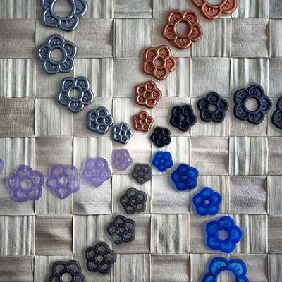 Silicone flower o-ring