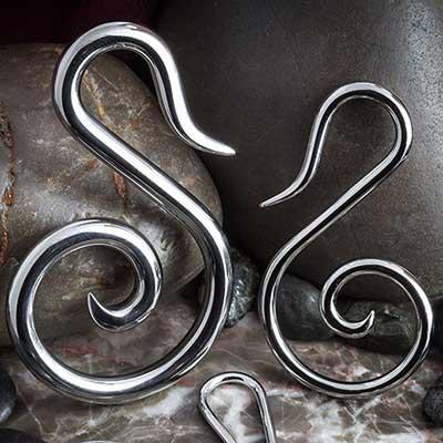 Steel Swan Spirals