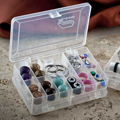 Mini Clear Storage Case