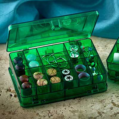 Mini Green Storage Case
