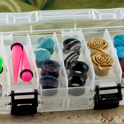 Medium Clear Storage Case