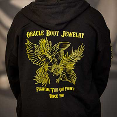 Oracle 'Fighting the Good Fight' hoodie