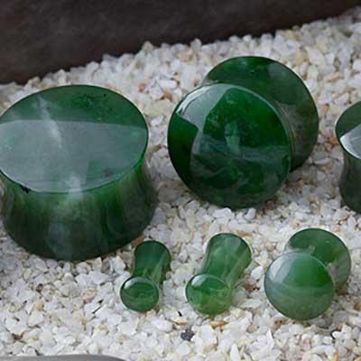 Nephrite Jade Stone Plugs