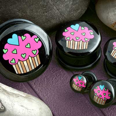 Single Flare Cupcake Plug