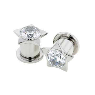 PRE-ORDER Steel Gem Star Plug