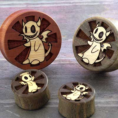 Wood Heaven and Hell Plugs