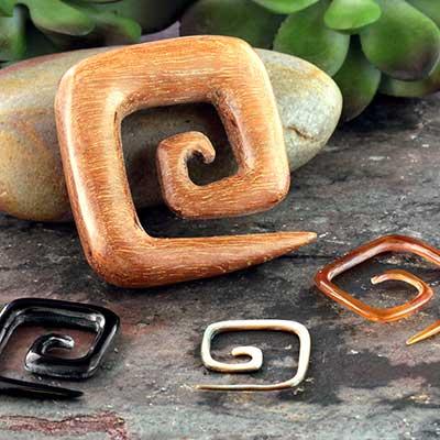 Square Spirals