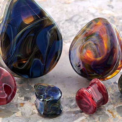 Borostone Teardrop Plugs