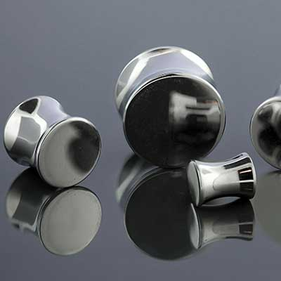 Solid Steel Double Flare Plug