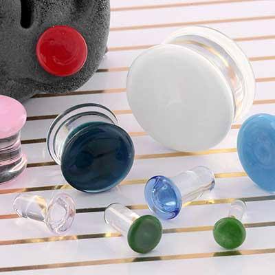 (2nds/Blemished) Gws Pyrex Colorfront Plugs