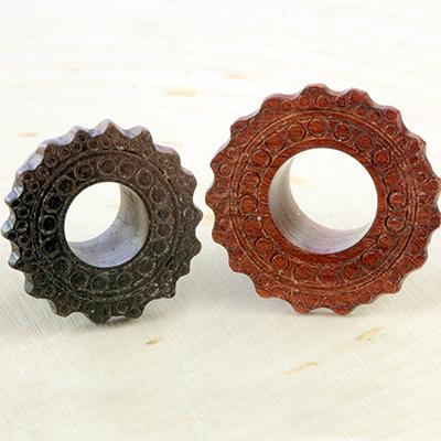 Wood Afghan Eyelets