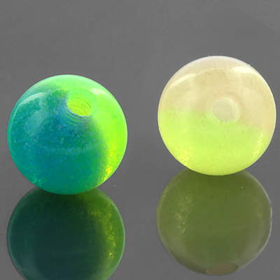 Two Tone Glow in the Dark Threaded Ball