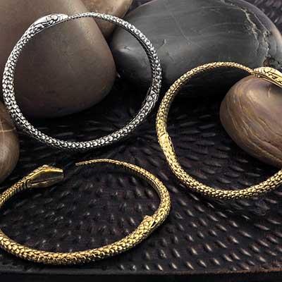 Brass Snake Bracelet