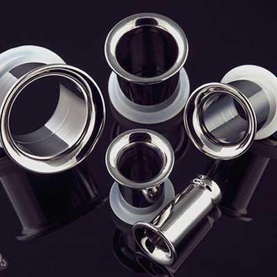 Titanium Single Flare Eyelet