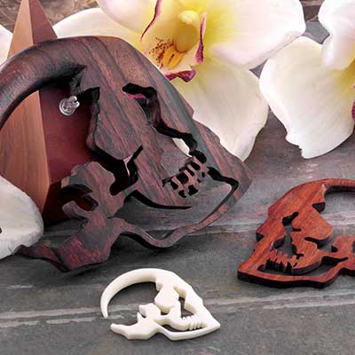 Skull Silhouette Design