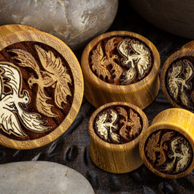 Osage Orange Phoenix Plugs