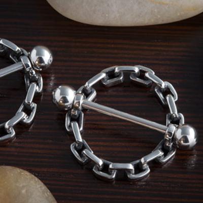 Chain nipple shield
