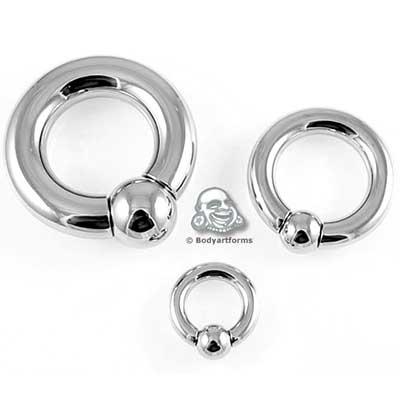 PRE-ORDER Steel easy-fit ball & socket ring