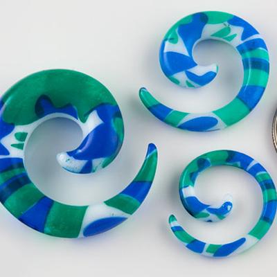 Sea Print Spiral